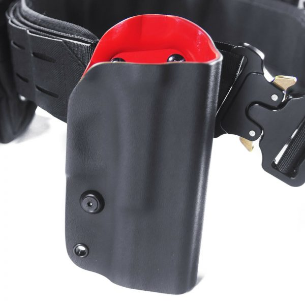Fits Glock 19 Gen 3 4 5 OWB Red Kydex Molle Open Carry Retention Holster Right