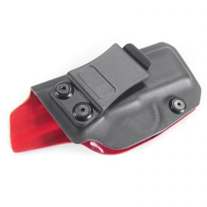 For SIG P365 IWB Red / Black Kydex Concealed Carry Retention Holster Right Hand